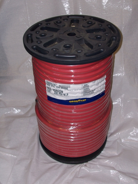"5/8"" ID Red 200 psi Air/Water Hose (part #1010-0631) (FT)"