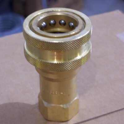 "3/4"" Brass Quick Coupler Body"