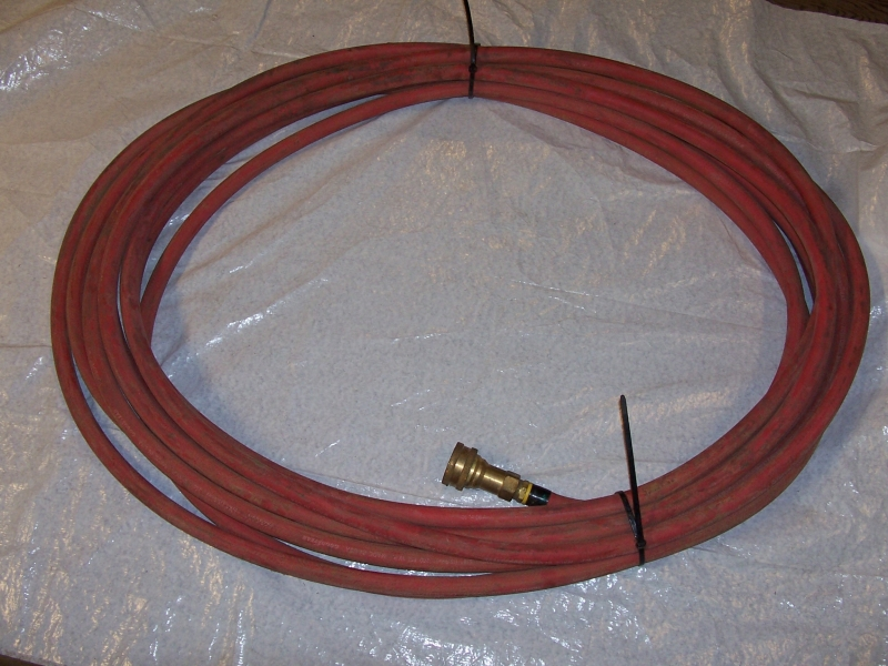 """75' 5/8"""" Hose with quick couplers (pair)"""