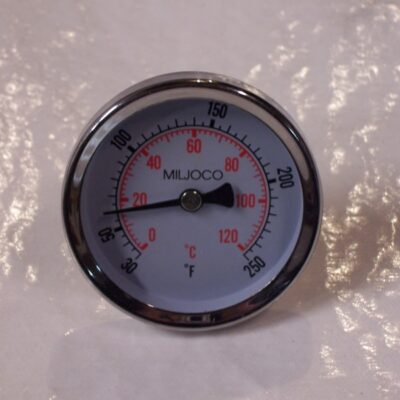 "Miljoco 2.5"" Rear Thermometer"